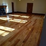 20mm Solid Oak finished with 3 coats of clear lacquer